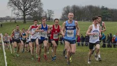 English National Cross Country Championships, Donington Park, Leicestershire UK,  27th  February 2016