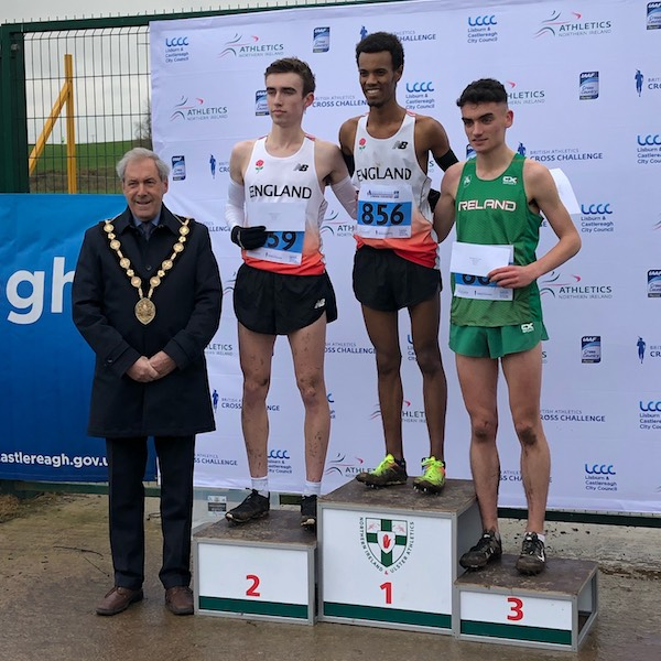 Zak and Ben on the Podium at Belfast